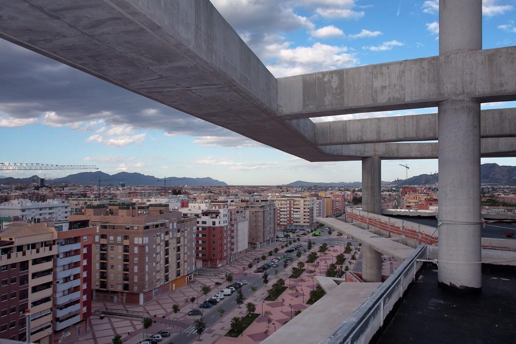Planta doce con vistas al Paseo Florencia en Murcia
