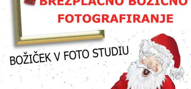 Vabimo vas na brezplačno božično fotografiranje, ki bo v soboto 10.12.2016 od 10-12 in 14-18.ure. Brezplačno vas fotografiramo, z nami bo Božiček, fotografije, ki jih naročite, zaračunavamo po ceniku za […]