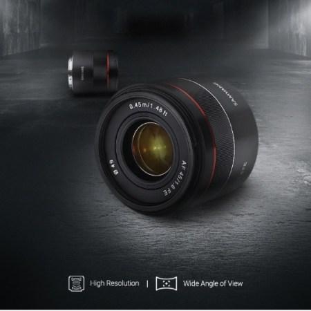 Samyang 45mm f1.8 Sony E - copertina