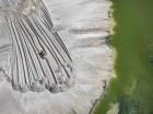 Edward Burtynsky - Phosphor Tailings Pond #4