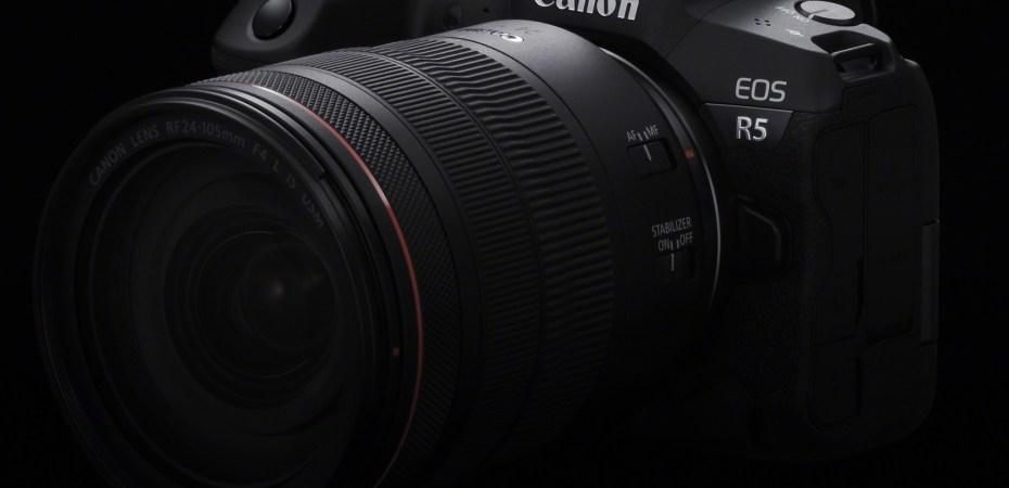 EOS R5 + RF 24-105mm F4 L IS USM