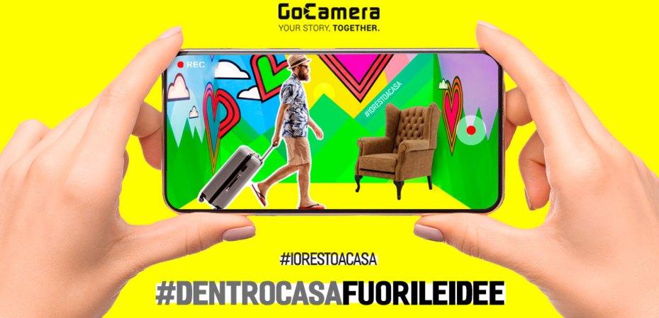#dentrocasafuorileidee - GoCamera - #iorestoacasa