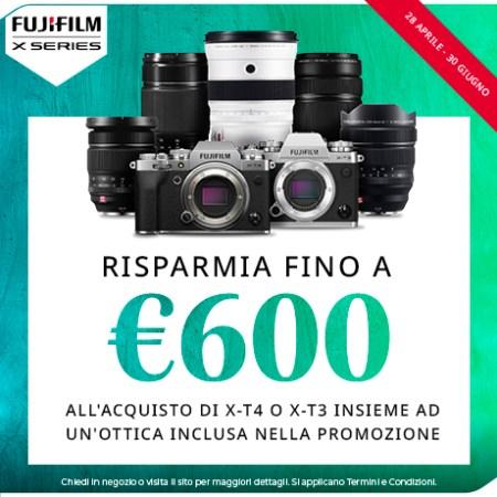 FujiFilm PROMO X-T4 e X-T3