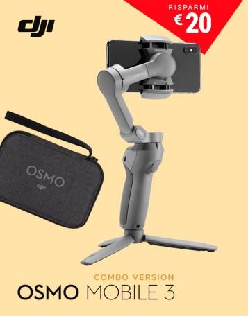 DJI GoCamera Offerte Pasqua Osmo Mobile 3 Bundle