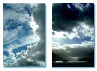 Hacer fotos al cielo