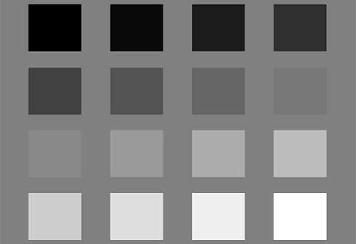 Colores acromáticos