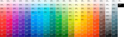 Escalas de colores