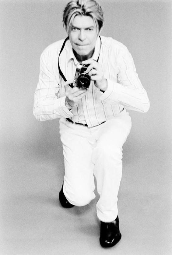 David Bowie with a Leica m6 by Ellen Von Unwerth 2003