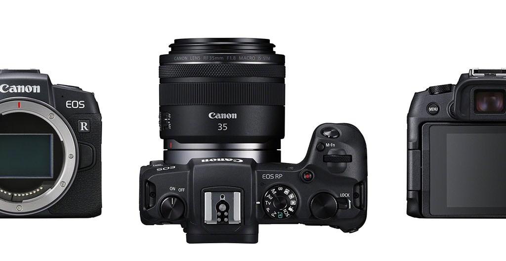 Digitalkamera in einer Dreiseitenansicht
