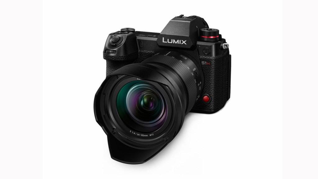 Zu den mit der Software kompatiblen Kameramodellen zählt auch die Panasonic-Vollformatkamera DC-S1H.