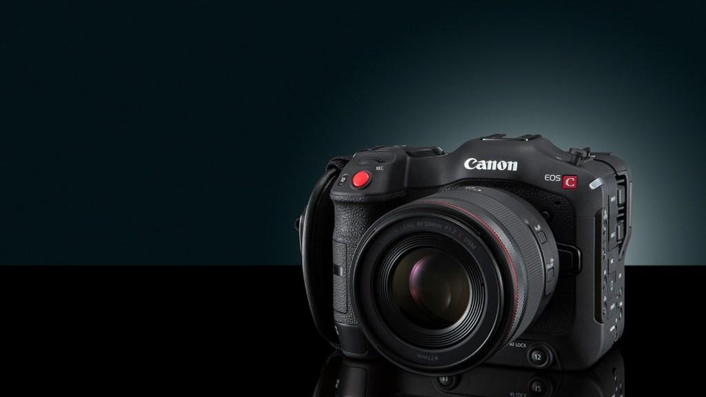 Die kompakte, vielseitige EOS C70 kombiniert die hohe Bildqualität der Canon Cinema EOS Baureihe mit der Mobilität und Flexibilität des EOS R Systems.