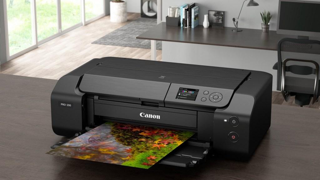 Der Canon PIXMA PRO-200 beherrscht den randlosen Fotodruck auch auf Fine-Art-Medien. (c) Canon