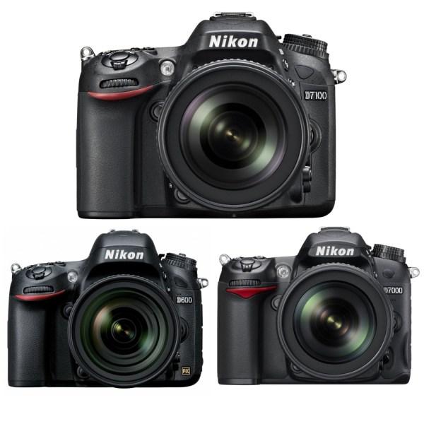 Nikon-D7100-Vs-Nikon-D600-Vs-Nikon-D7000
