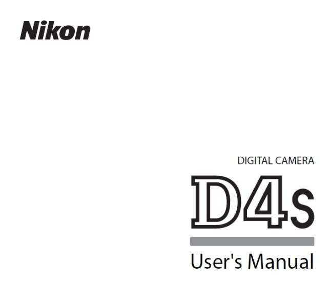 nikon-d4s-users-manual