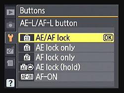 Nikon-AE-L-AF-L-buton-menu