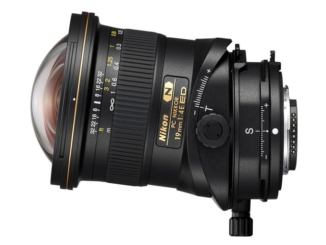 Nikon PC NIKKOR 19mm f/4E ED tilt shift lens