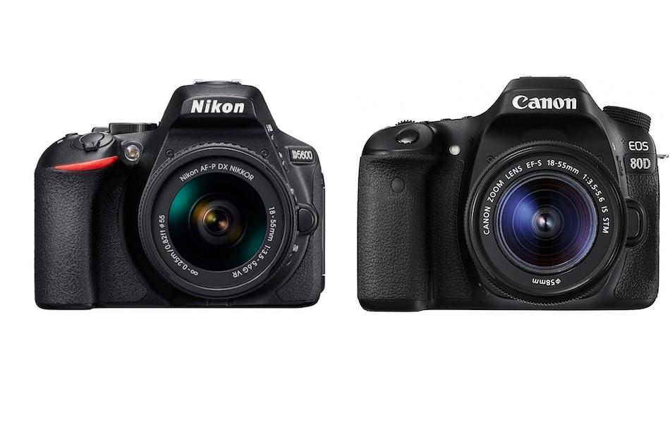 Nikon D5500 Vs D7200 >> Nikon D5600 vs Canon 80D – Karşılaştırma - Fotopedi