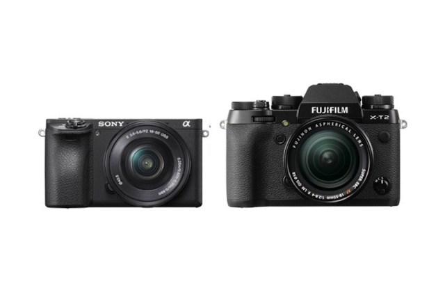 Sony A6500 vs Fujifilm X-T2 - Karşılaştırma