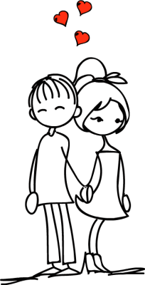 Image result for free clip art couple holding hands transparent