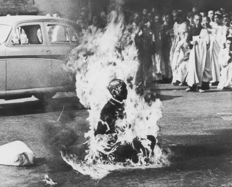 Monje budista en llamas - Malcolm W. Browne - 1963