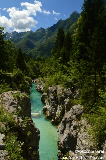 Langs de soca river