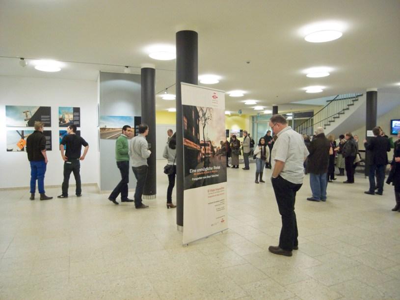 Inauguración exposicion El Viaje Imposible. Frankfurt