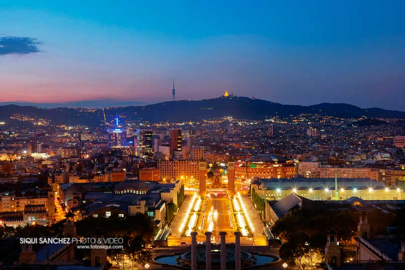 vista-barcelona-nocturna-terraza-mnac-montjuic