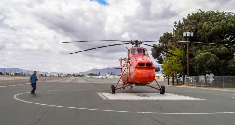 Sikorsky S58-helicoptero-aeropuerto