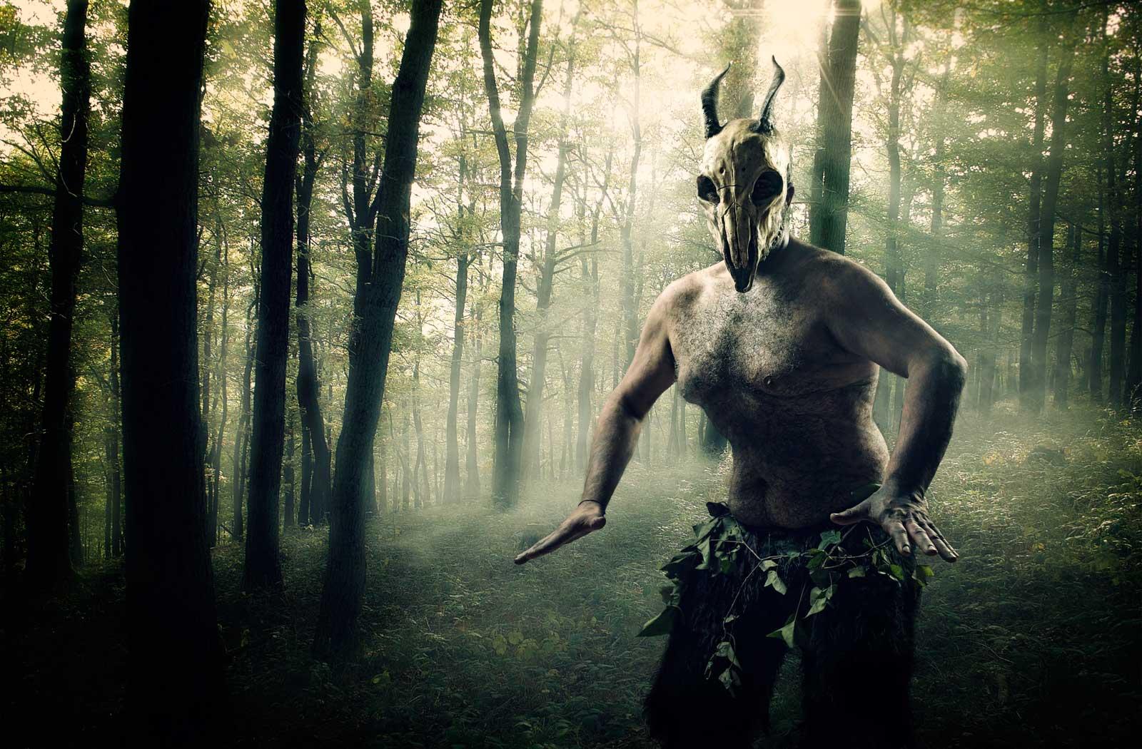 fauno-bosque-magia-divinidad