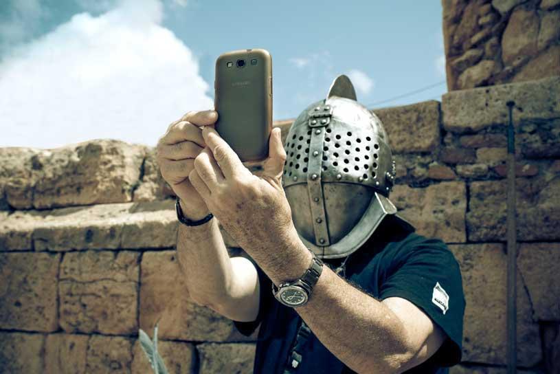 selfie-gladiator
