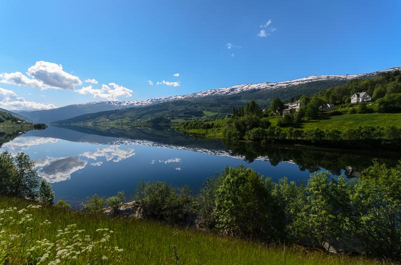 Granvinvatnet, bei Voss