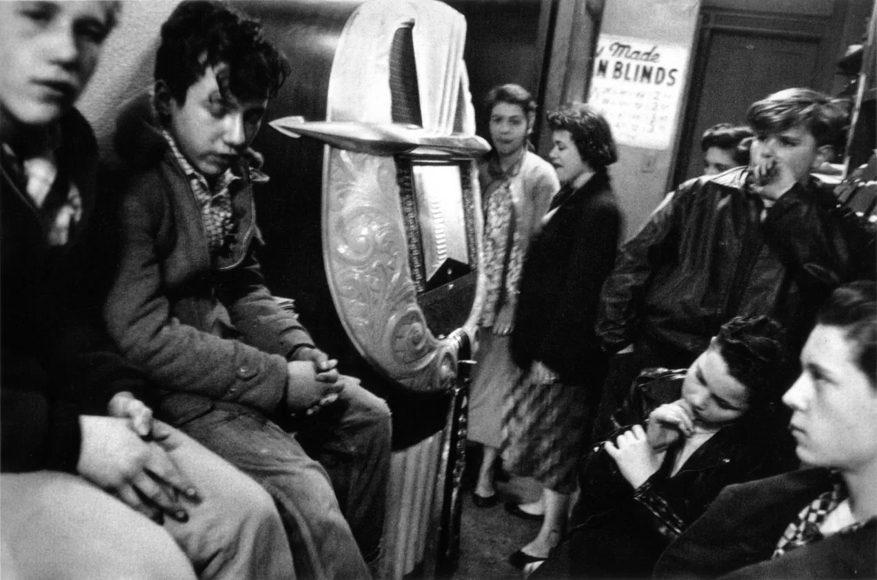 "rf09 - ""The Americans""  Robert Frank - Street photography - fotostreet.it"