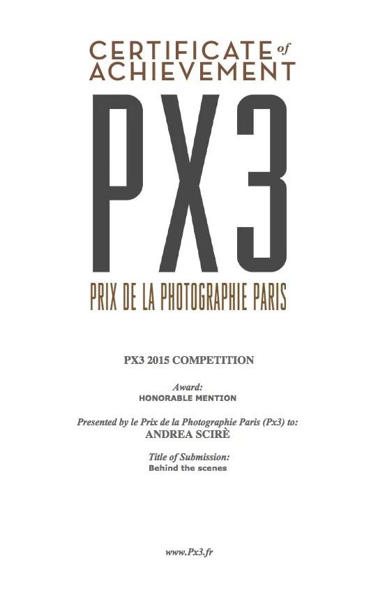 Schermata 2015 06 21 alle 12.01.26 - HONORABLE MENTION al PRIX DE LA PHOTOGRAPHIE PARIS (PX3) 2015 - fotostreet.it