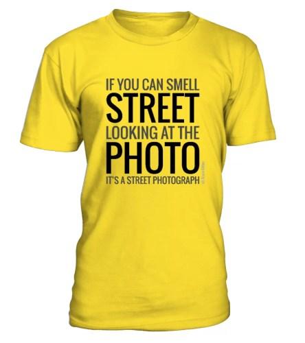 fotostreet smell the street 444x500 - SMELL THE STREET! Street T-Shirt - fotostreet.it