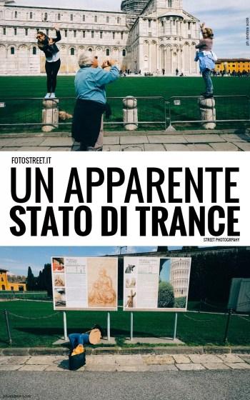 trance - Un apparente stato di trance - Street Photography - fotostreet.it