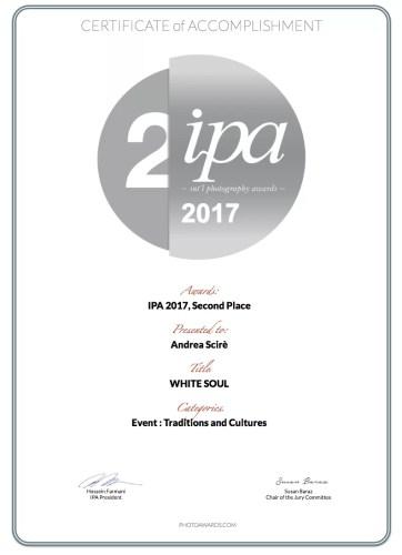 andrea-scire-ipa-2017-winner-certificate