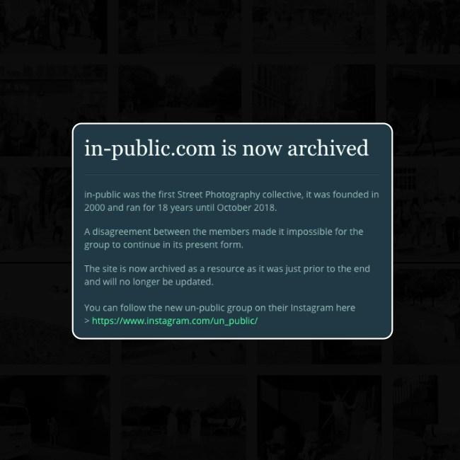 goodbye inpublic - DE-GENERAZIONE - GoodBye IN-Public - fotostreet.it