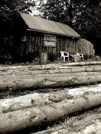 Chata drwali, Beskidy
