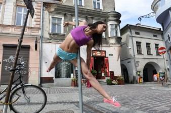 Street pole sport w Bielsku-Białej