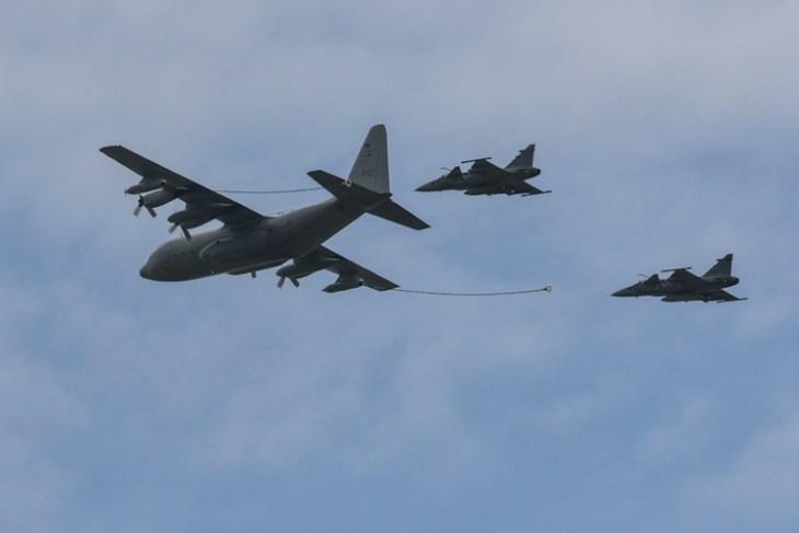Dni Nato / NATO Days 2013, C-140 Hercules, SAB Jaas 39 Gripen