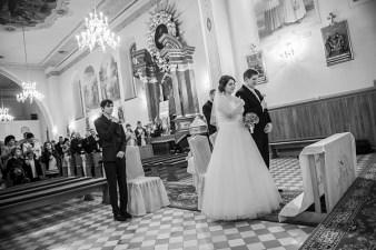 Fotograf ślubny Bielsko-Biała. Kasia i Maciej: ceremonia ślubna