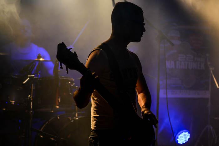 koncert zespołu Another Source Of Light 22. finał WOŚP Bielsko-Biała