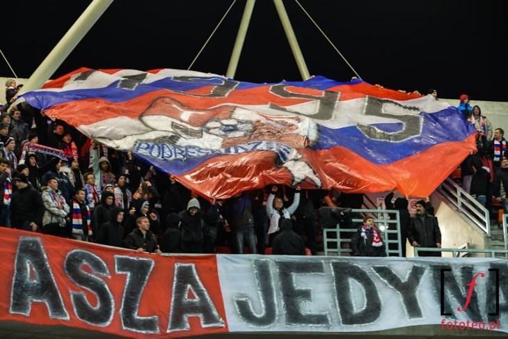 Fotografia sportowa: kibice TS Podbeskidzie