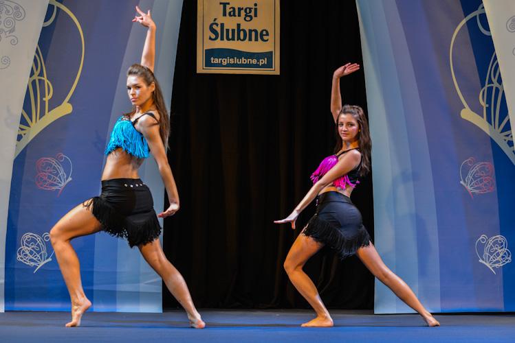 Pokaz szkoły tańca Cubana na targach ślubnych w Bielsku-Białej
