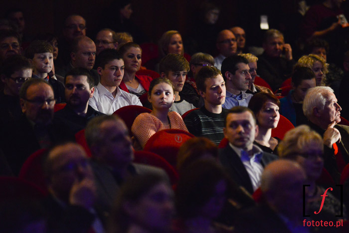 Publiczność na otwarciu Bielskiej Zadymki Jazzowej