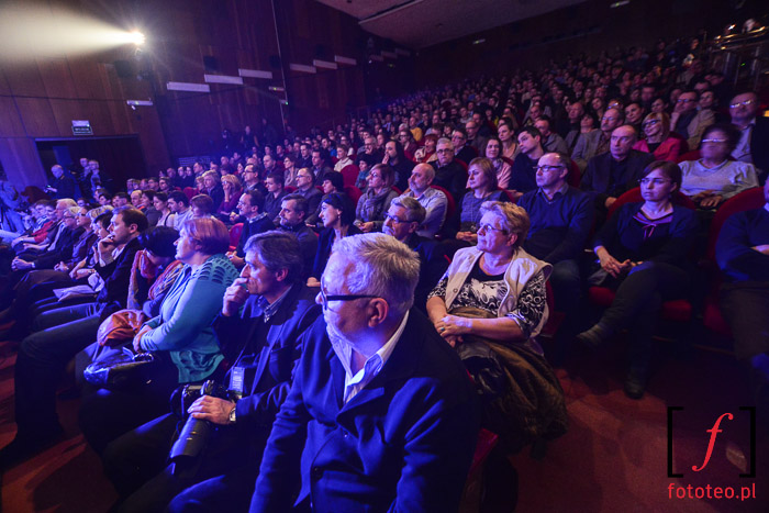 Publiczność na koncercie otwarcia w Czechowicach-Dziedzicach