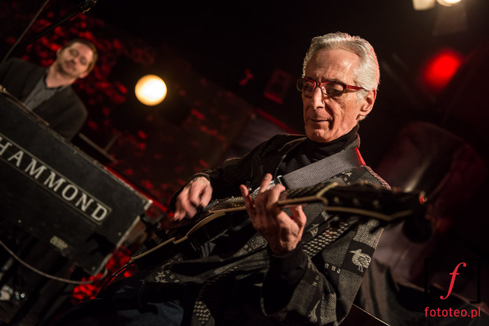 Pat Martino and Pat Bianchi during concert in Poland
