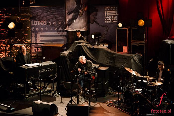 Pat Martino Trio podczas występu w Bielsku-Białej