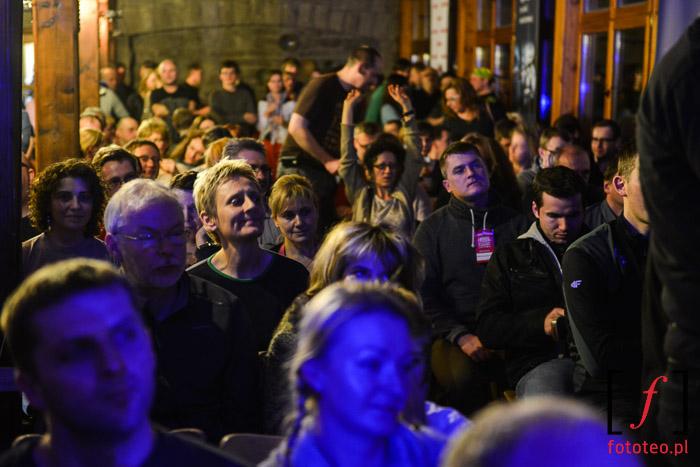 Publiczność na koncercie na Szyndzielni. Bielska Zadymka Jazzowa