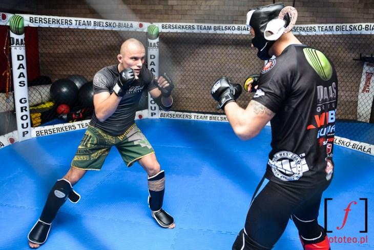 Trening w klatce: Berserkers Bielsko-Biała